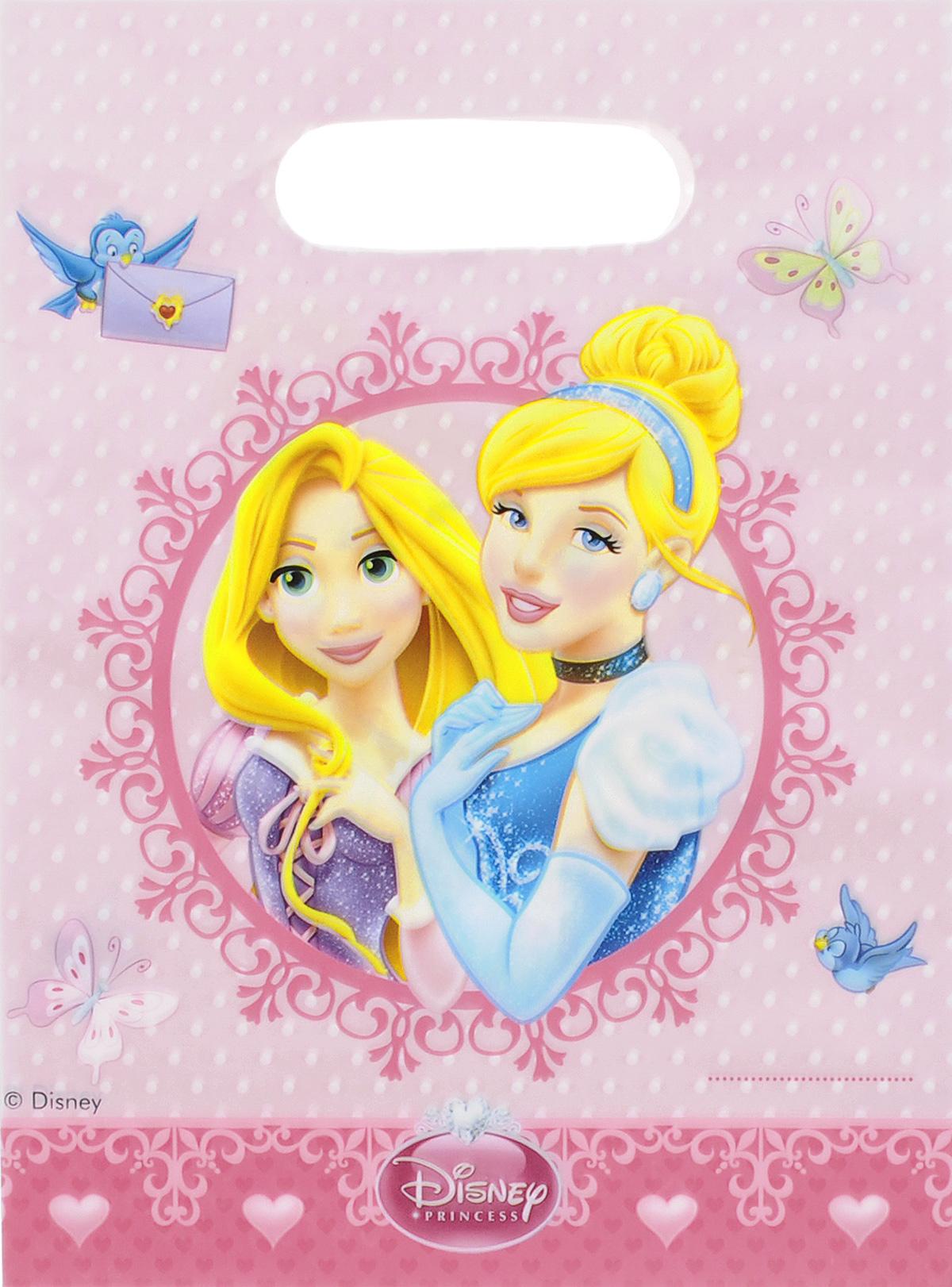 Procos Подарочный пакет Принцессы Сказочный мир 6 шт -  Подарочная упаковка