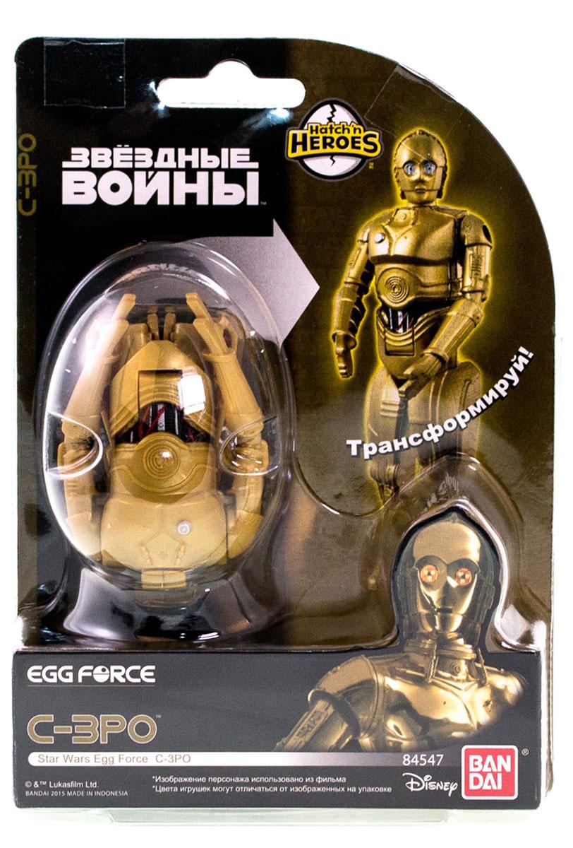 Egg Force Яйцо-трансформер Star Wars C-3PO игрушка arctic force sling shot монстр sb38287