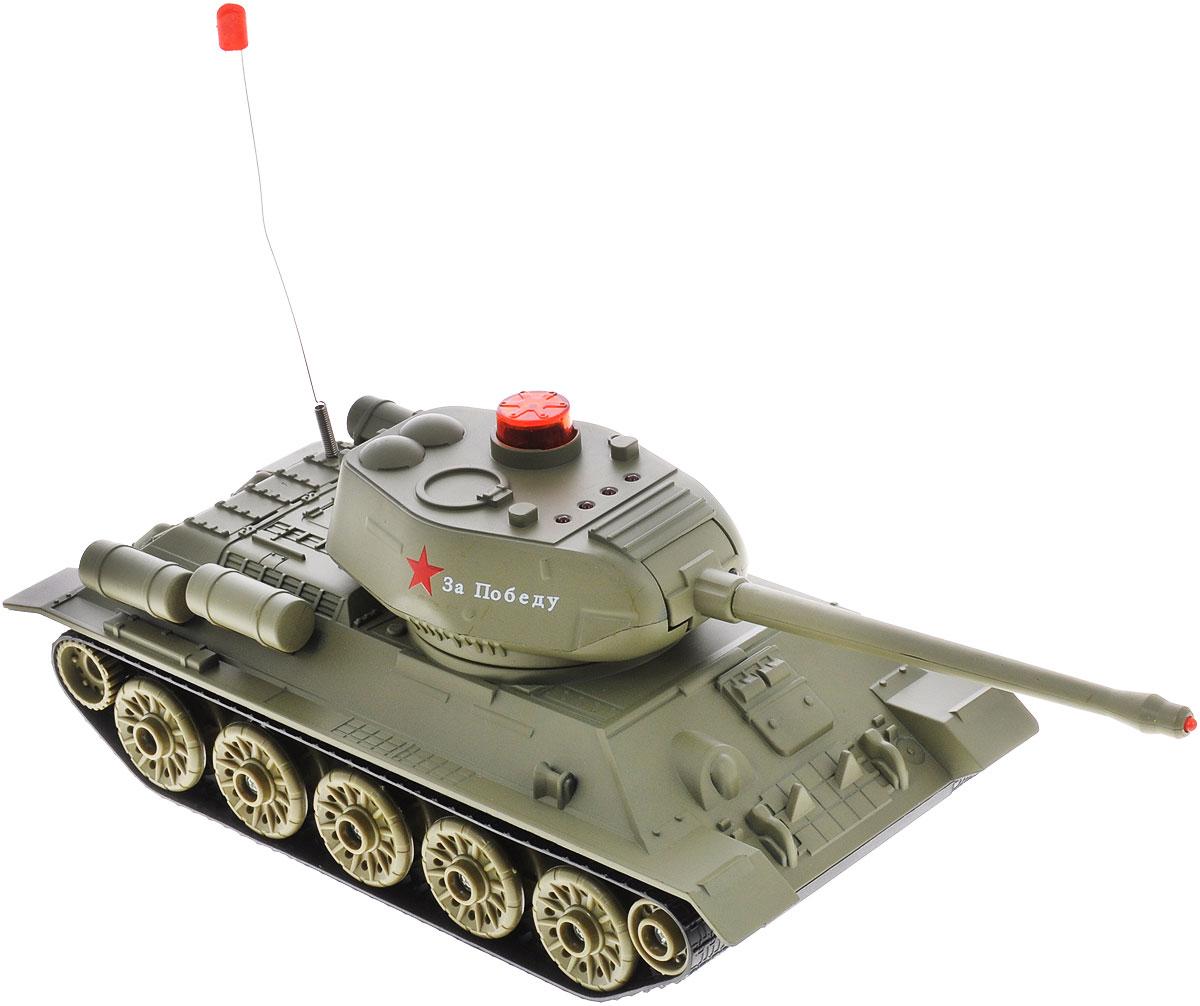 ABtoys Танк на радиоуправлении Т-34 - Радиоуправляемые игрушки