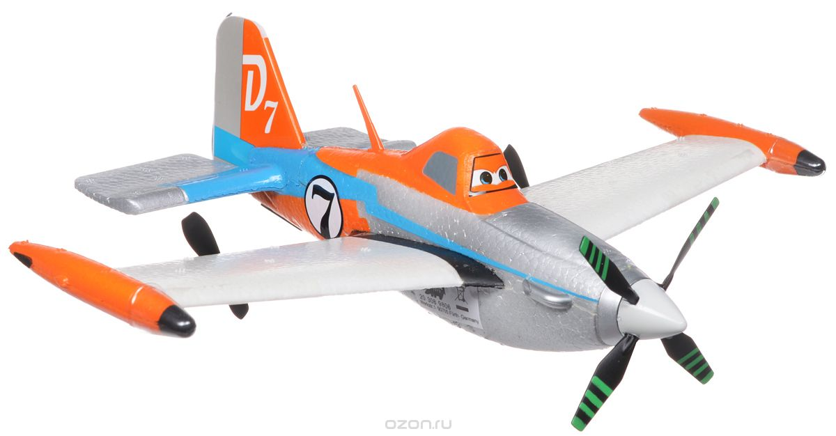 Dickie Toys Самолет на радиоуправлении Дасти масштаб 1:20 - Радиоуправляемые игрушки