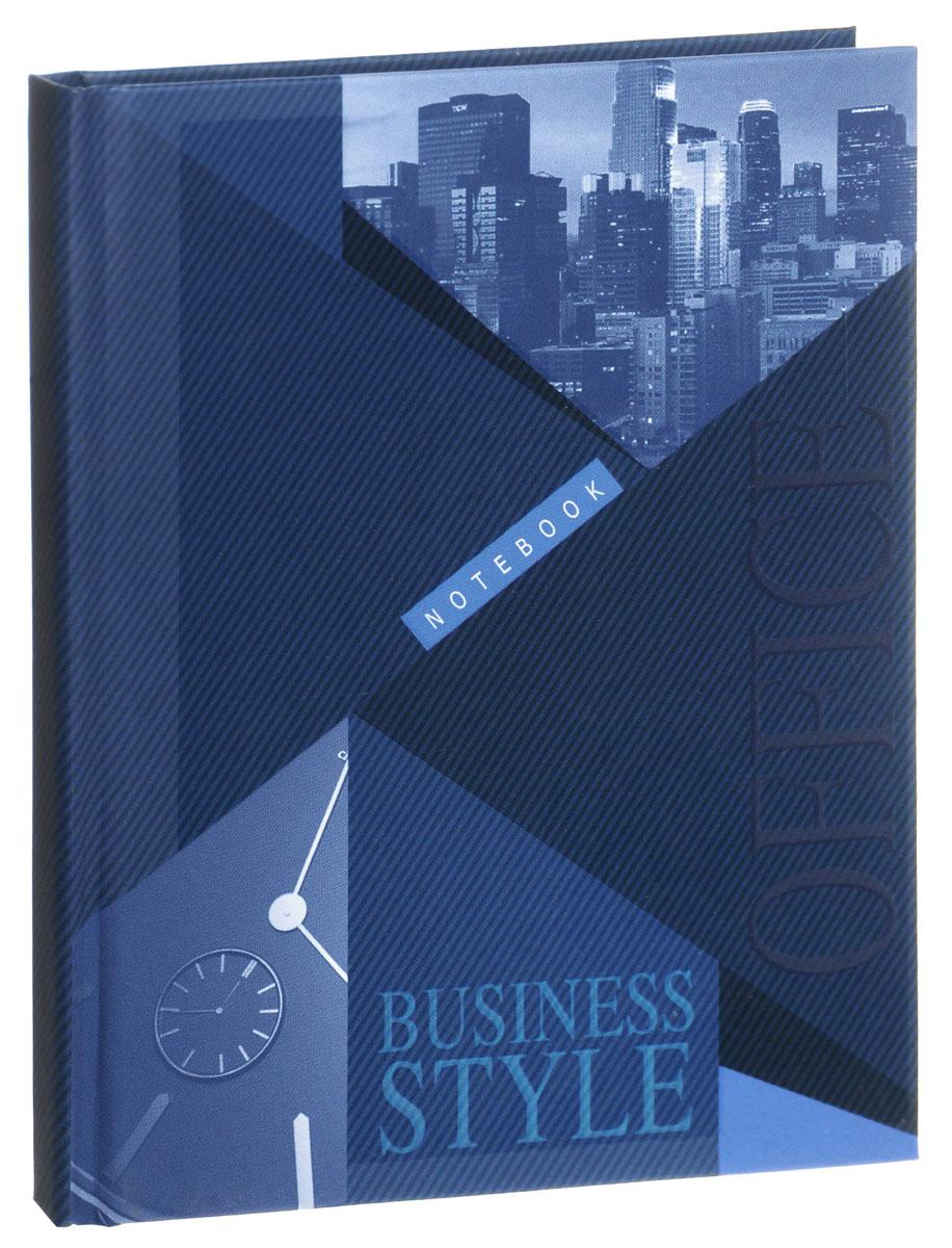 Listoff Записная книжка Business Style 80 листов в клеткуКЗЛ6801810Записная книжка Listoff Business Style - незаменимый атрибут современного человека, необходимый для рабочих и повседневных записей в офисе и дома. Записная книжка содержит 80 листов формата А6 в клетку без полей. Обложка, выполненная из ламинированного картона, украшена картинкой с изображением большого города и часов. Внутренний блок изготовлен из высококачественной плотной бумаги, что гарантирует чистоту записей и отсутствие клякс. Книга для записей Listoff Business Style станет достойным аксессуаром среди ваших канцелярских принадлежностей. Она подойдет как для деловых людей, так и для любителей записывать свои мысли, рисовать скетчи, делать наброски.