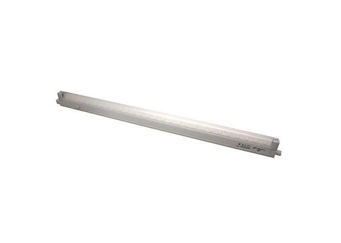Потолочный светильник Luck & Light 28T4LWL28T4LWL Светодиодный энергосберегающий светильник Luck & Light, изготовленный из пластика, отлично впишется в интерьер Вашего дома. Он прекрасно подойдет для освещения коридоров, лестничных пролетов, кухонь, подсобных помещений, а так же для подсветки полок и внутреннего пространства шкафов (не допускается монтаж светильника около источников теплового излучения, в банях и саунах). Корпус светильника оснащен выключателем. На корпусе располагается вращающаяся панель из пластика, на которой расположено 28 светодиодов. Характеристики:Материал: пластик, металл. Размер светильника:61,6 см х 4,1 см х 2,1 см. Количество светодиодов:28 шт. Цветовая температура: 4100 К. Размер упаковки: 61 см х 8 см х 3 см. Характеристики:Материал: пластик, металл. Размер светильника:61,6 см х 4,1 см х 2,1 см. Количество светодиодов:28 шт. Цветовая температура: 4100 К. Размер упаковки: 61 см х 8 см х 3 см.