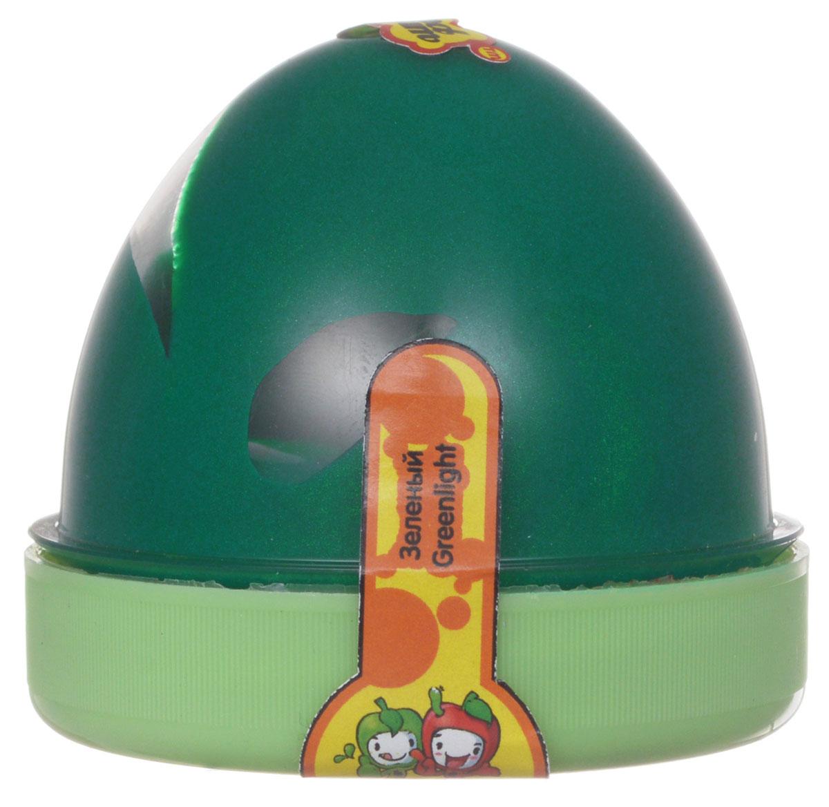 Жвачка для рук  ТМ HandGum , цвет: зеленый, с запахом яблока, 70 г - Развлекательные игрушки