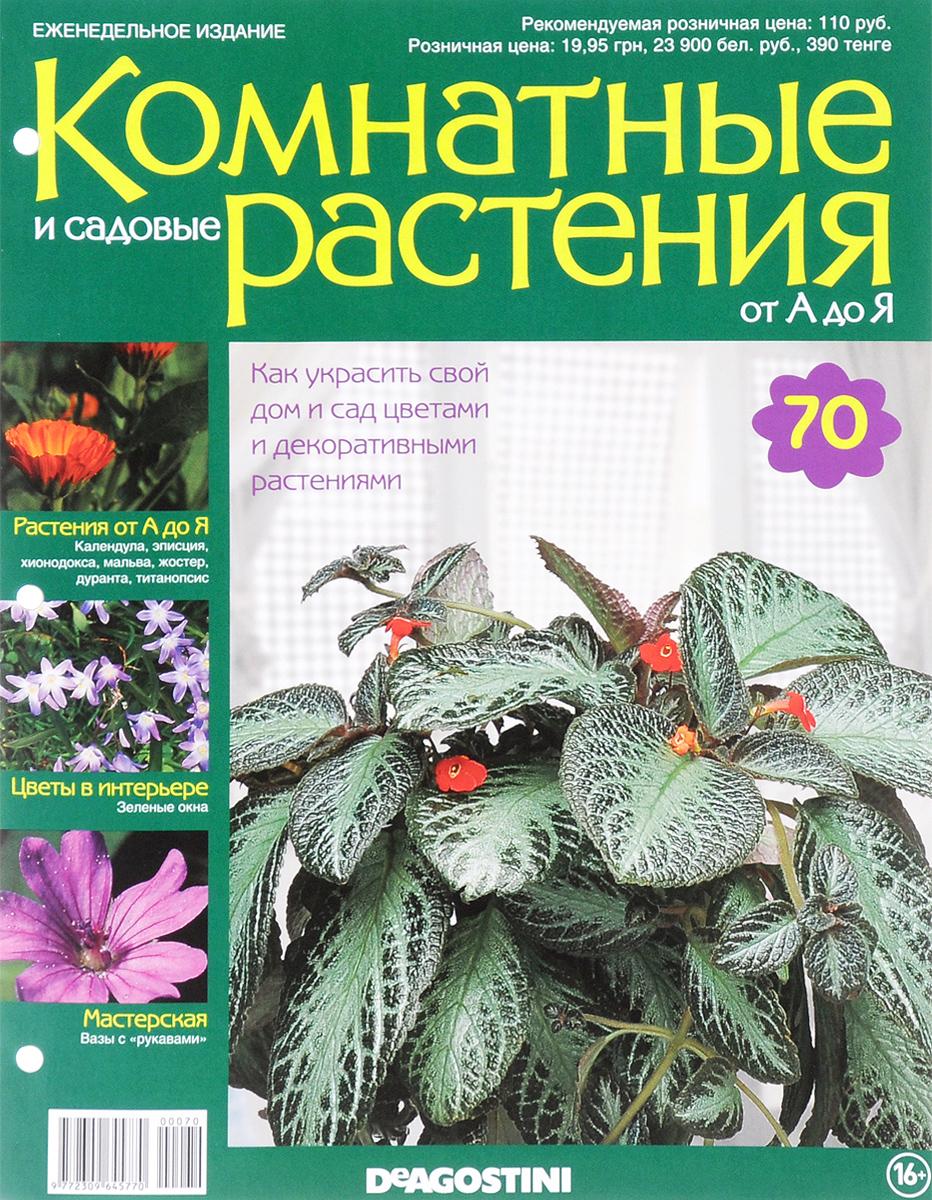 Журнал Комнатные и садовые растения. От А до Я №70 журнал комнатные и садовые растения от а до я 141