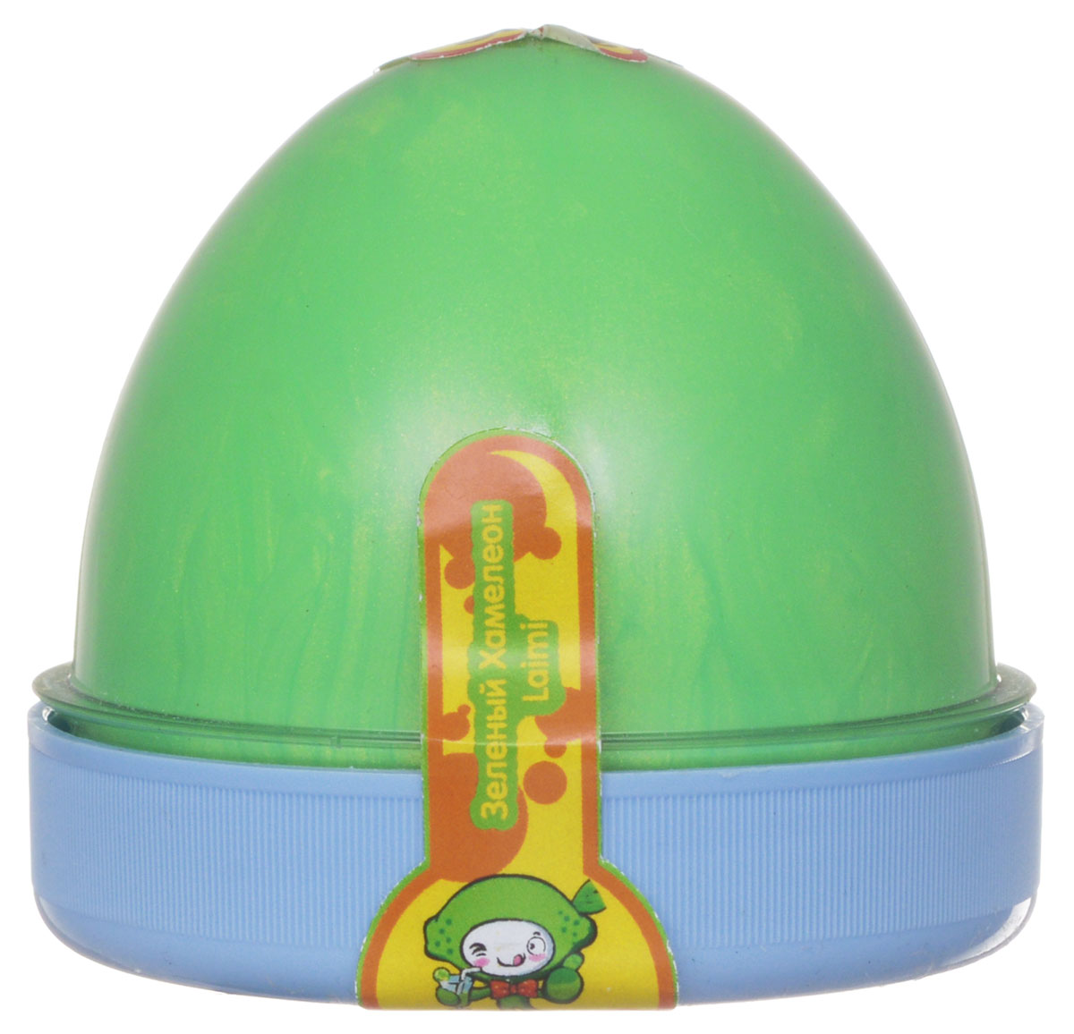 "Жвачка для рук ""ТМ HandGum"", цвет: зеленый хамелеон, с запахом лайма, 70 г"