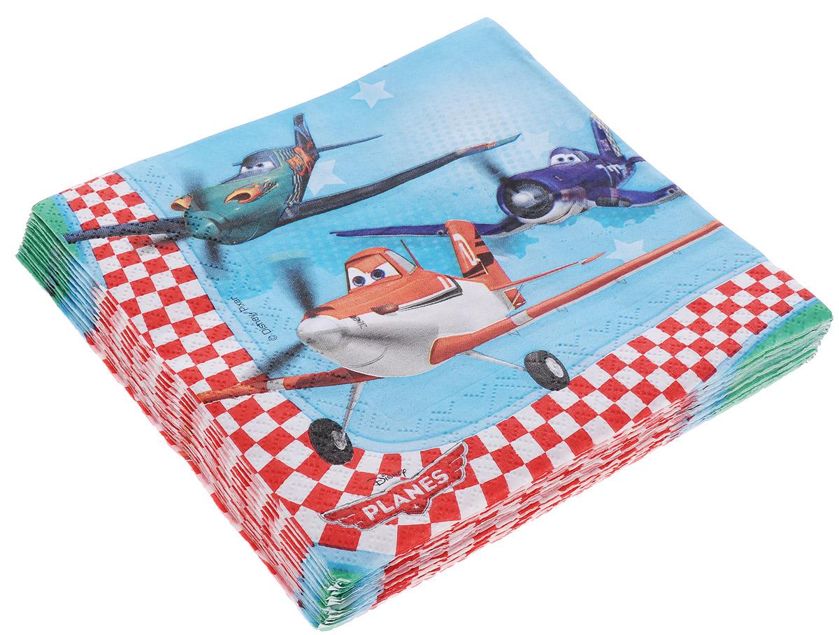 Procos Салфетки двухслойные Самолеты 20 шт procos тарелка самолеты 20 см 8 шт