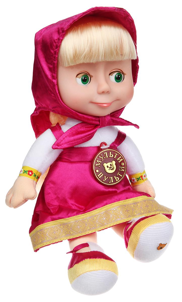 Мульти-Пульти Мягкая кукла Маша 7 фраз