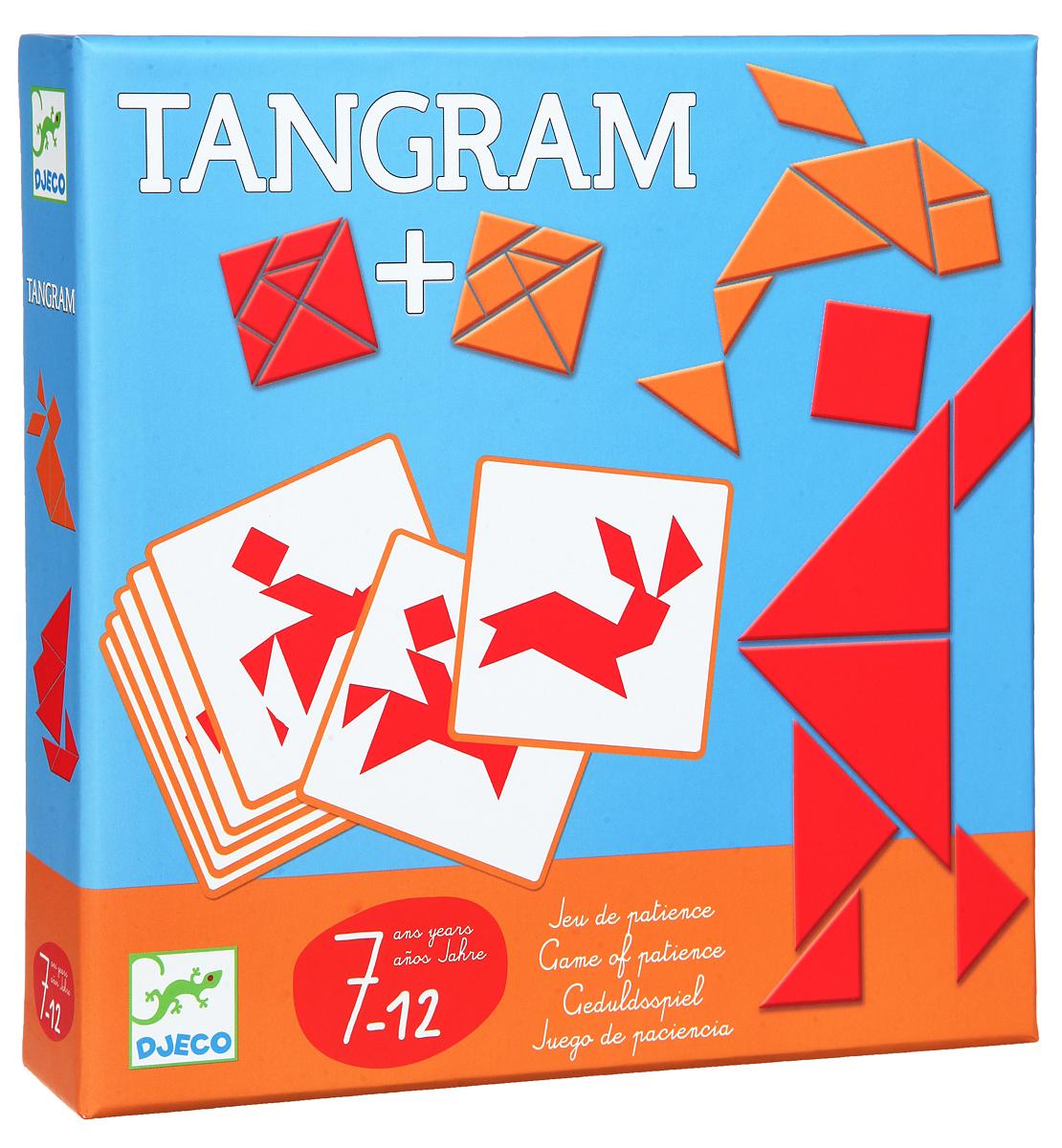Djeco Обучающая игра Танграм игра танграм игра купить