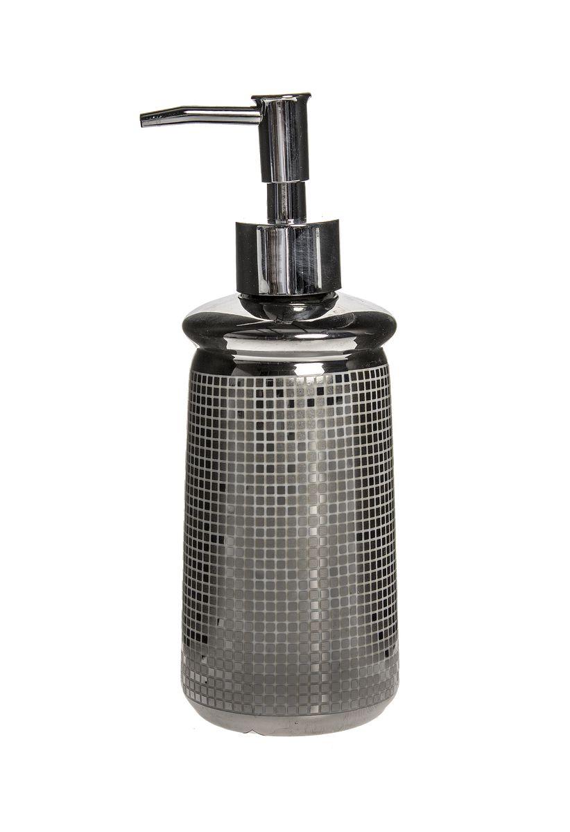 Дозатор для жидкого мыла Vanstore Mosaic, 7 х 7 х 20 см дозатор для жидкого мыла vanstore lotus 300 мл