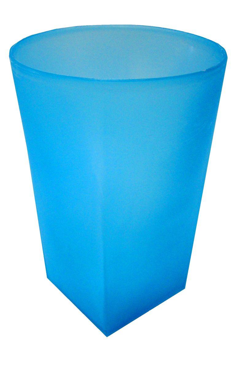 """Стакан для ванной комнаты Vanstore """"Summer Blue""""  изготовлен из высококачественного пластика.  В стакане удобно хранить зубные щетки, тюбики с зубной  пастой и другие принадлежности.  Такой аксессуар для ванной комнаты стильно украсит  интерьер и добавит в обычную обстановку яркие и модные  акценты.  Изделие отлично сочетается с другими аксессуарами из  коллекции """"Summer Blue""""."""