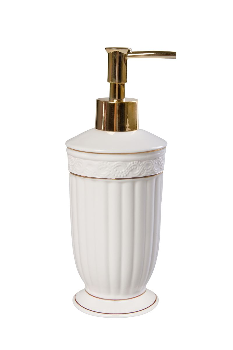 Дозатор для жидкого мыла Vanstore Allure, 8 х 8 х 19,5 см водолазки апрель джемпер