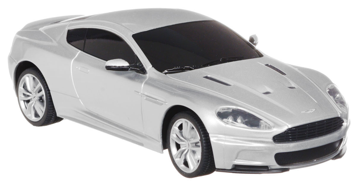 Rastar Радиоуправляемая модель Aston Martin DBS Coupe цвет серебристый масштаб 1:24 martin pescatore ma108awkic40