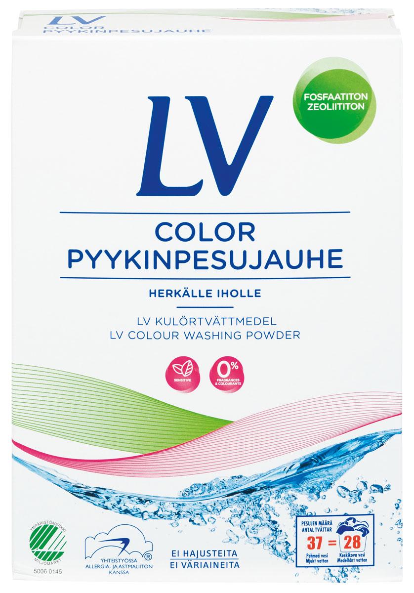 Berner LV Концентрированный стиральный порошок COLOR 1,6 кг концентрированный стиральный порошок color 1 6 кг lv