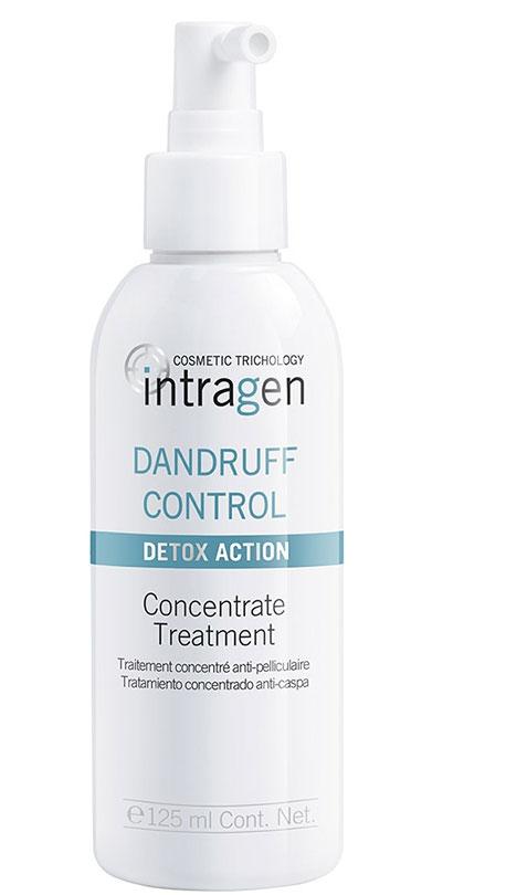 Revlon Professional Intragen Средство против перхоти Dandruff 125 мл7208809000Прекрасное дополнение к шампуню. Продукт устраняет перхоть и блокирует ее повторное появление. Работает уже с первого применения. Сыворотка препятствует чрезмерному зажирнению головы, улучшает общее состояние кожного покрова, выводит токсины. Дополнительным эффектом служит омоложение волос и кожи головы, а так же стимуляция роста волос. Питает волосы, дарит им блеск, силу и энергию.
