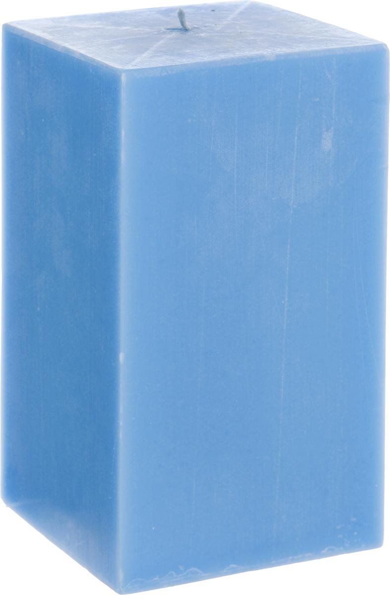Свеча декоративная Proffi Квадрат, цвет: голубой, 9,5 х 9,5 х 17,5 смPH3402Свеча Proffi Квадрат выполнена из парафина и стеарина в классическом стиле. Изделие порадует вас ярким дизайном. Такую свечу можно поставить в любое место, и она станет ярким украшением интерьера. Свеча Proffi Квадрат создаст незабываемую атмосферу, будь то торжество, романтический вечер или будничный день.