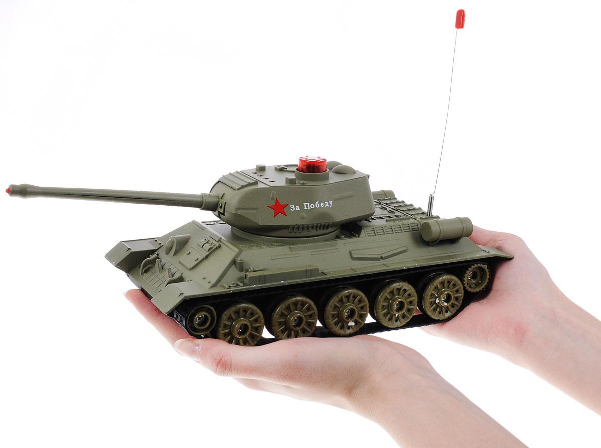 ABtoysНабор танков на радиоуправлении Танковый бой Т34 vs Тигр     Набор оснащен звуковыми эффектами: во время сражения раздаются...