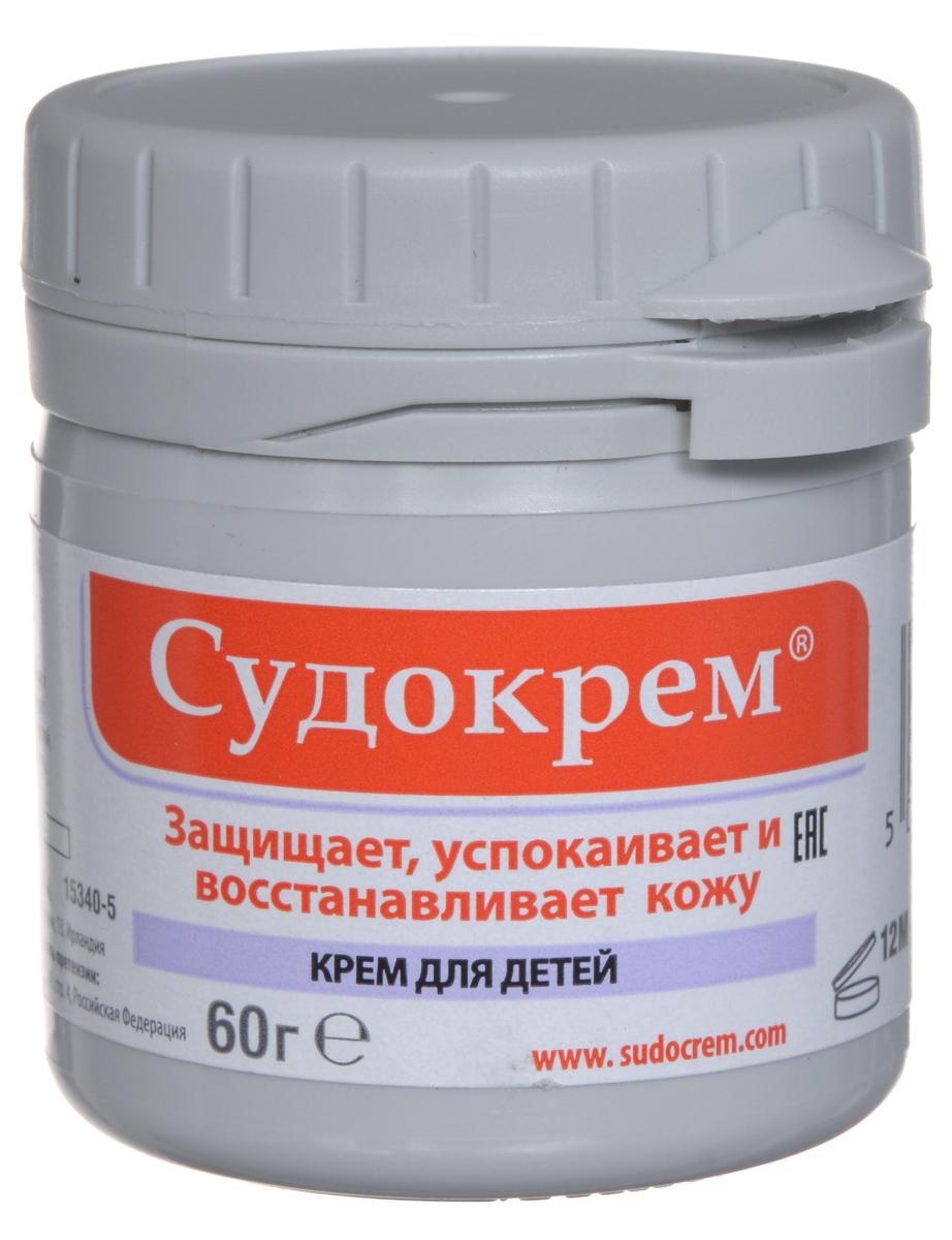 Судокрем Крем для детей, защищающий, успокаивающий, восстанавливающий, 60 г083300Крем для детей Судокрем предназначен для наружного применения при каждой смене подгузника (пеленочный дерматит) или по мере необходимости.Регулярное использование Судокрема поддерживает кожу в здоровом состоянии. Уникальная формула создает защитный барьер и препятствует раздражению внешних раздражителей. Крем успокаивает покрасневшую или чувствительную кожу, восстанавливает ее водный баланс, поддерживая, таким образом, здоровье и упругость кожи. Не прилипает к подгузнику.Следует использовать небольшое количество крема, нанося его тонким слоем. Втирать мелкими круговыми движениями до тех пор, пока он не впитается, оставив прозрачную пленку. Если пленка не покрывает пораженный участок, следует нанести еще немного средства. В случае, когда обработанный участок остается белого цвета - было нанесено слишком большое количество крема, поэтому излишки крема следует удалять.Товар сертифицирован.