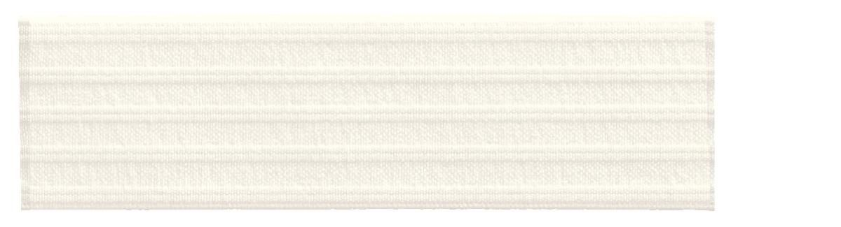 Лента эластичная Prym, для уплотнения шва, цвет: белый, ширина 3 см, длина 10 м лента эластичная prym прочная цвет белый ширина 3 см длина 10 м