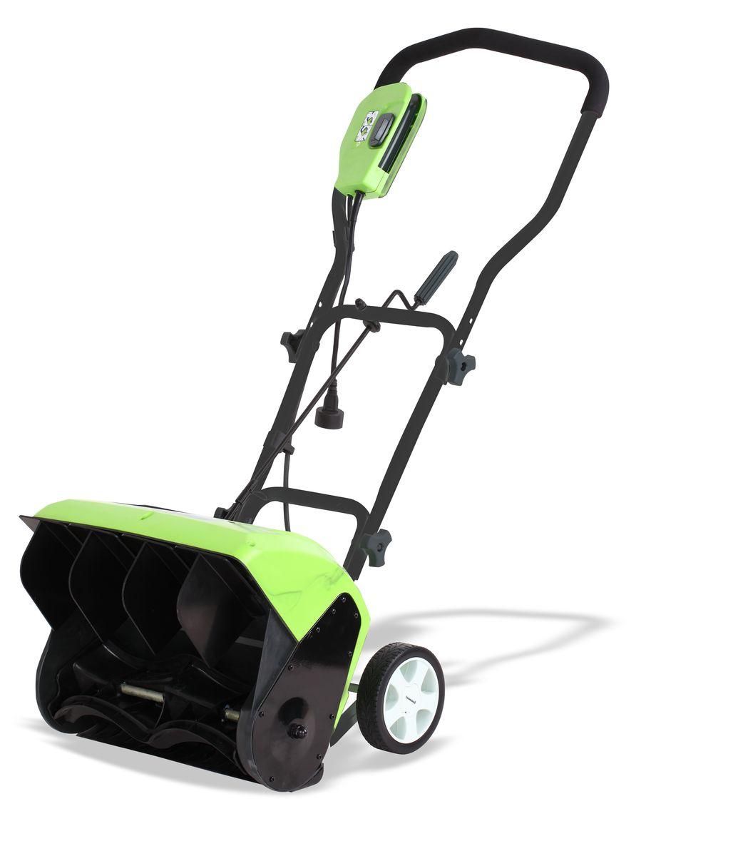 Снегоуборщик электрический Greenworks  GES10 , 1200 Вт, 40 см - Садовая техника