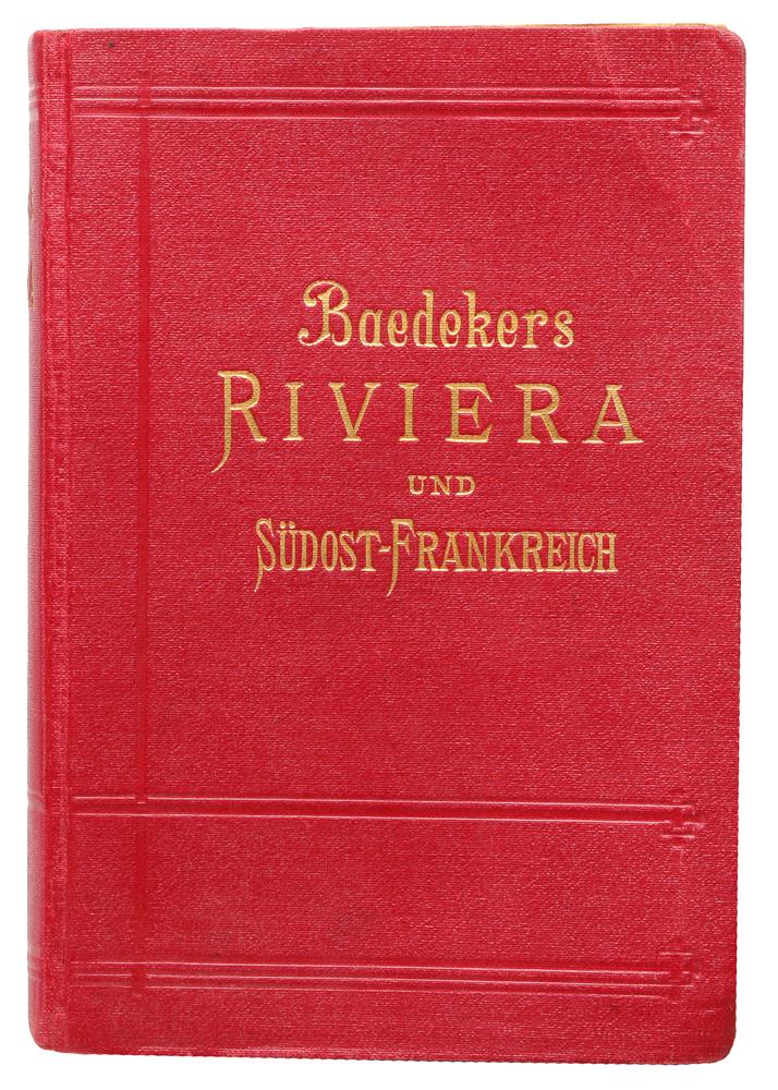 Die Riviera das Sudostliche Frankreich. KorsikaMB05-00940Leipzig. Verlag von Karl Baedeker. Сохранность хорошая