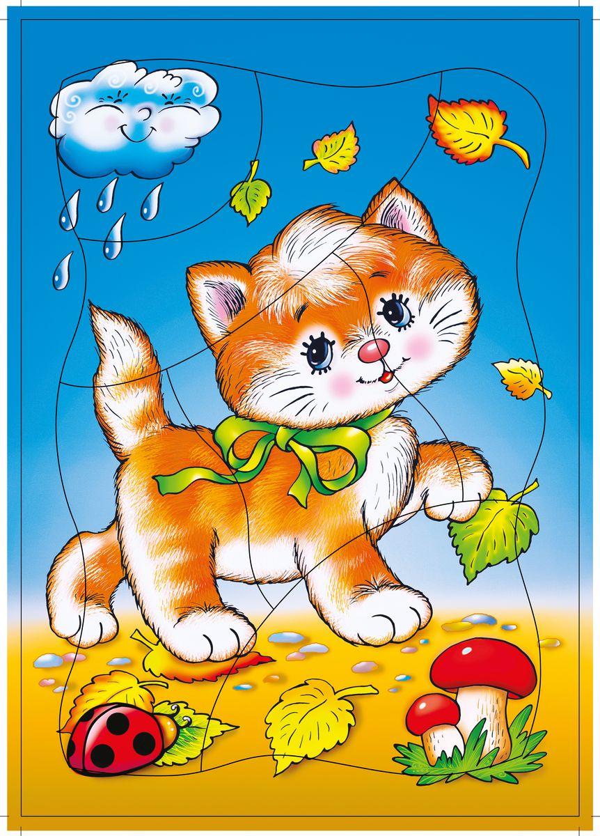 Дрофа-Медиа Пазл для малышей Котенок дрофа медиа пазл для малышей играй и собирай 4 в 1 2938