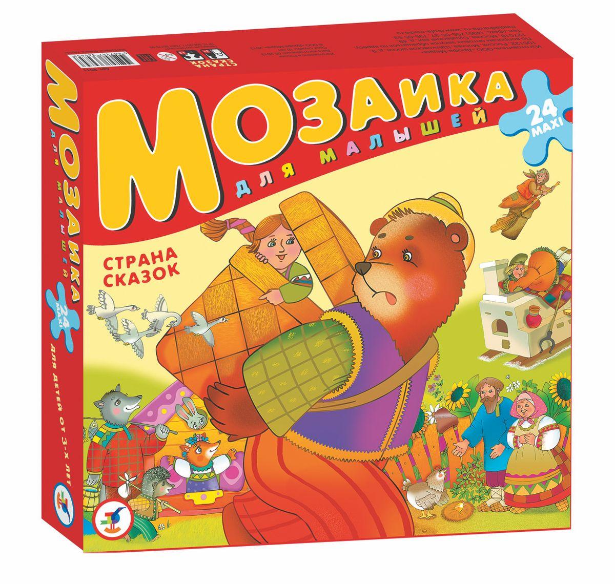 Дрофа-Медиа Мозаика Страна сказок дрофа медиа мозаика для малышей азбука 24 макси детали дрофа медиа