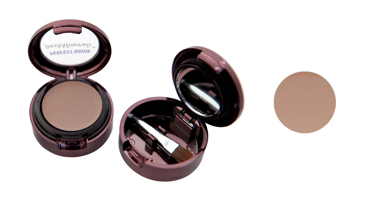 freshMinerals Тени для бровей с минералами, оттенок: Light Brown, 1,5 г905491