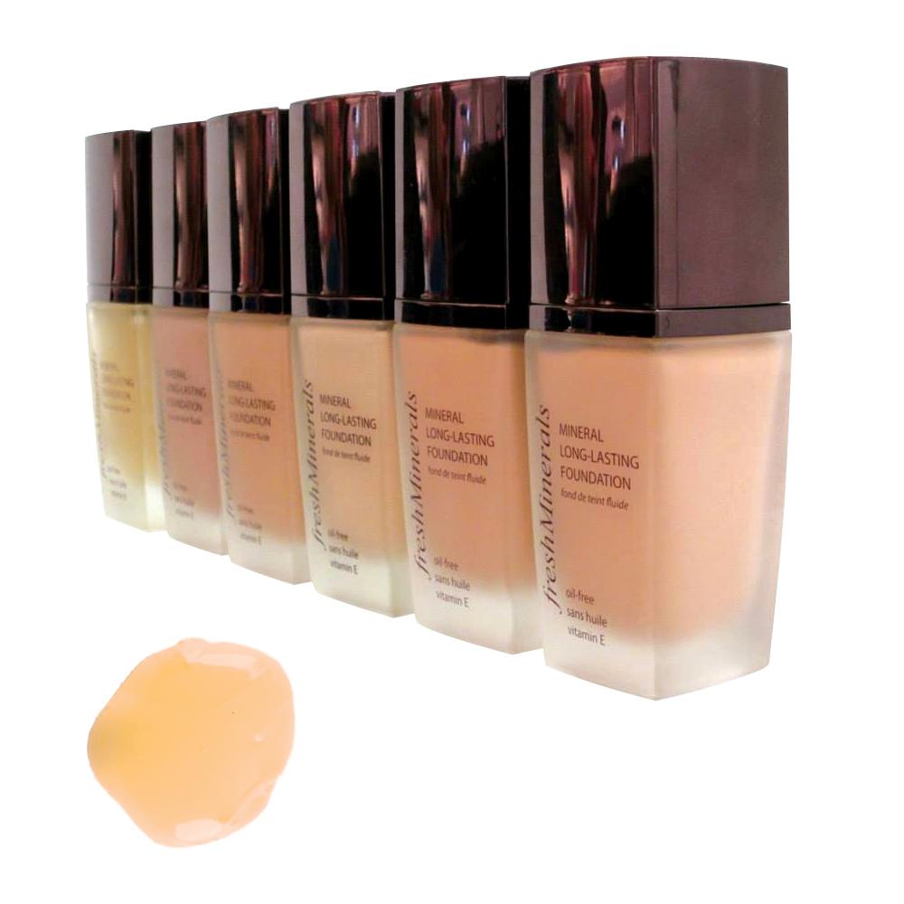 цена на freshMinerals Стойкая тональная основа под макияж, оттенок: Second Skin 30 мл