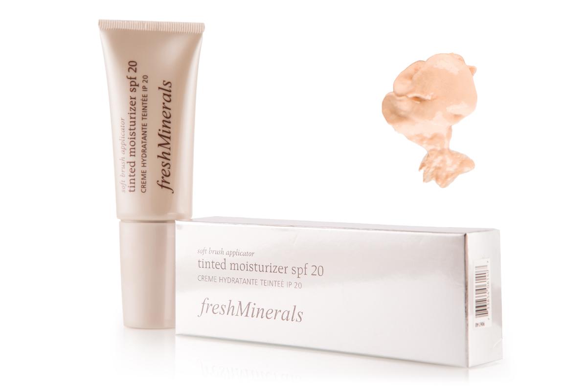 цена на freshMinerals Увлажняющий крем с тональным эффектом SPF 20, оттенок: Pink Porcelain 40 мл