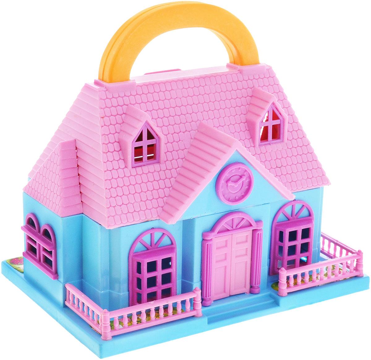 1TOY Игровой набор Домик цвет розовый голубой игровые фигурки breyer набор вестерн баррел