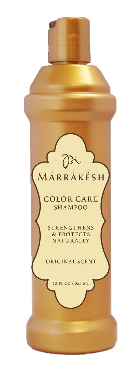 Marrakesh Шампунь для окрашенных волос Color Original, 355 млMKCS1275Бережно очищает волосы, не вымывая пигменты и сохраняя цвет. Восстанавливает поврежденную структуру окрашенного волоса.