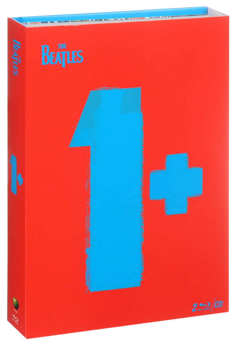 The Beatles: 1+ (2 Blu-ray + CD) книги издательство аст все правила французского языка для школьников с приложениями