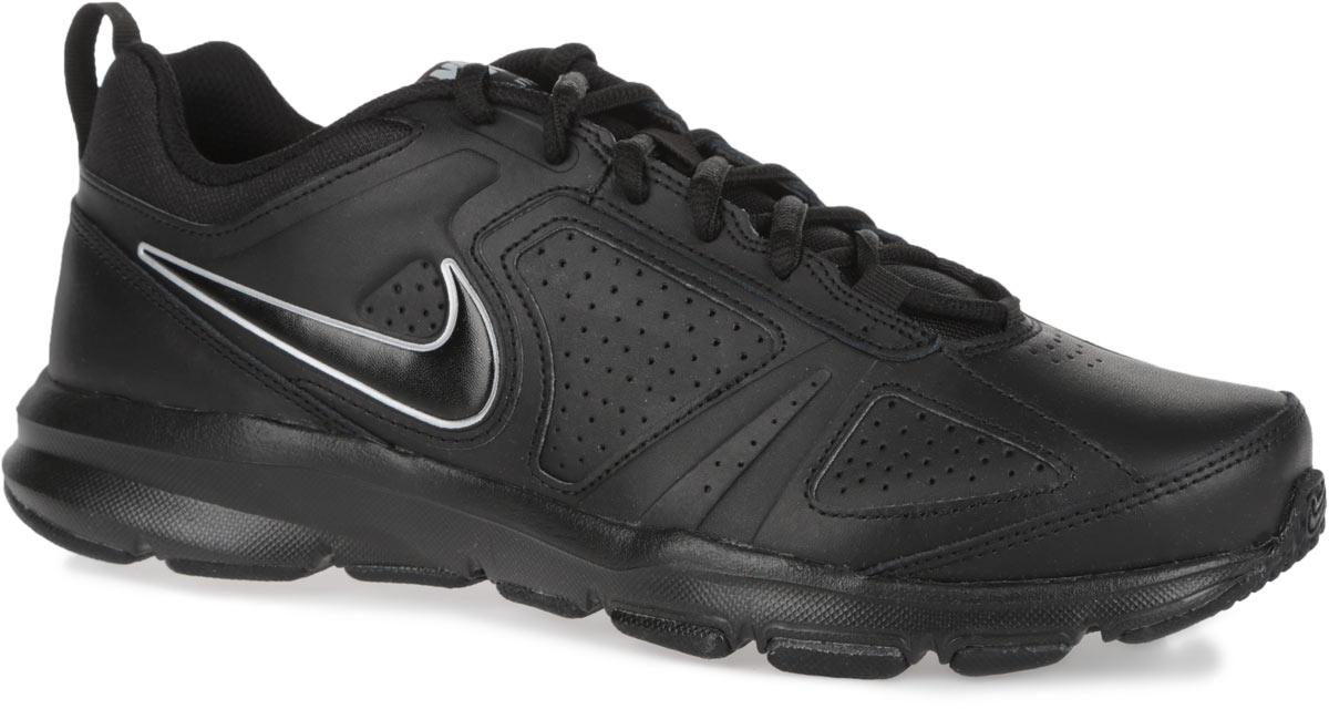 Кроссовки для фитнеса мужские Nike T-Lite XI, цвет: черный. 616544-007. Размер 8 (41)616544-007Мужские кроссовки Nike T-Lite XI предназначены как для фитнеса, так и дляповседневной носки. Модель выполнена из комбинации натуральной, синтетической кожи и текстиля. Верх изделия дополнен перфорацией, чтосоздает превосходную вентиляцию и комфорт в течении всего дня. Подъемоформлен классической шнуровкой, которая надежно фиксирует обувь на ноге ирегулирует объем. Подкладка и стелька, идеально подстраивающаяся поданатомические контуры стопы, изготовлены из текстиля. Плоские швы ненатирают кожу и не сковывают движений. По бокам кроссовки декорированысимволикой бренда. Язычок дополнен текстильной нашивкой, а задник - ярлычком для более удобного обувания. Легкаяпромежуточная подошва изготовлена из филона, протектор - из твердой резины. Бугорки Delta на протекторе подошвы обеспечивают превосходное сцепление с поверхностью.