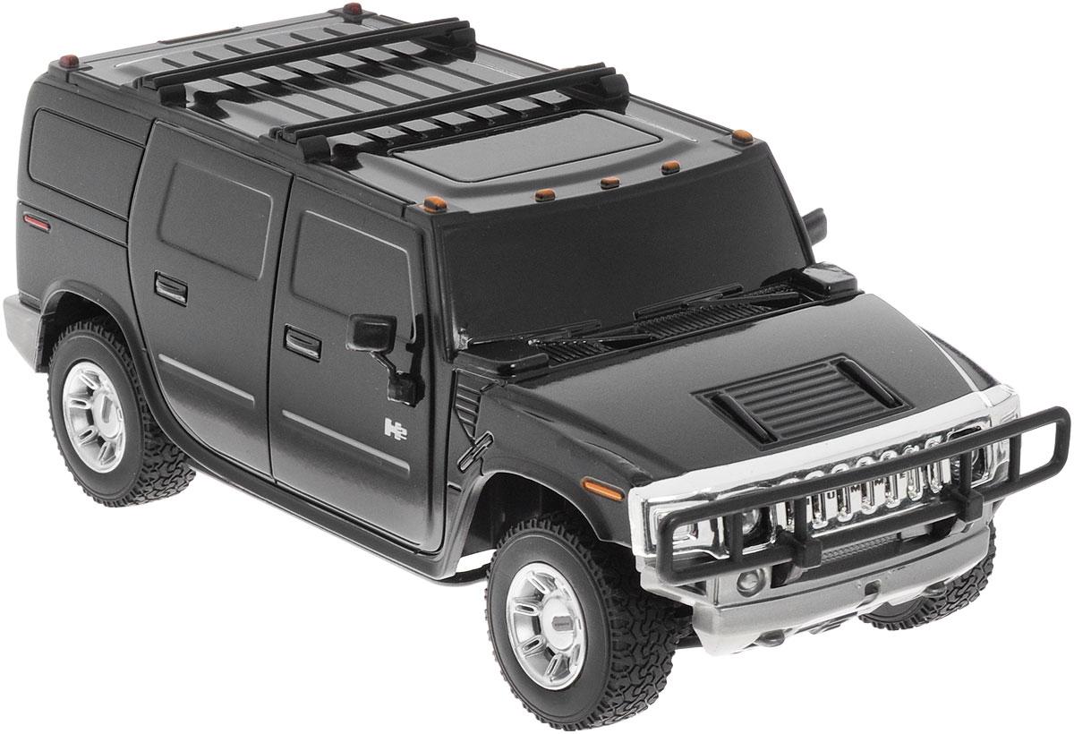 Rastar Радиоуправляемая модель Hummer H2 цвет черный масштаб 1:27 - Радиоуправляемые игрушки