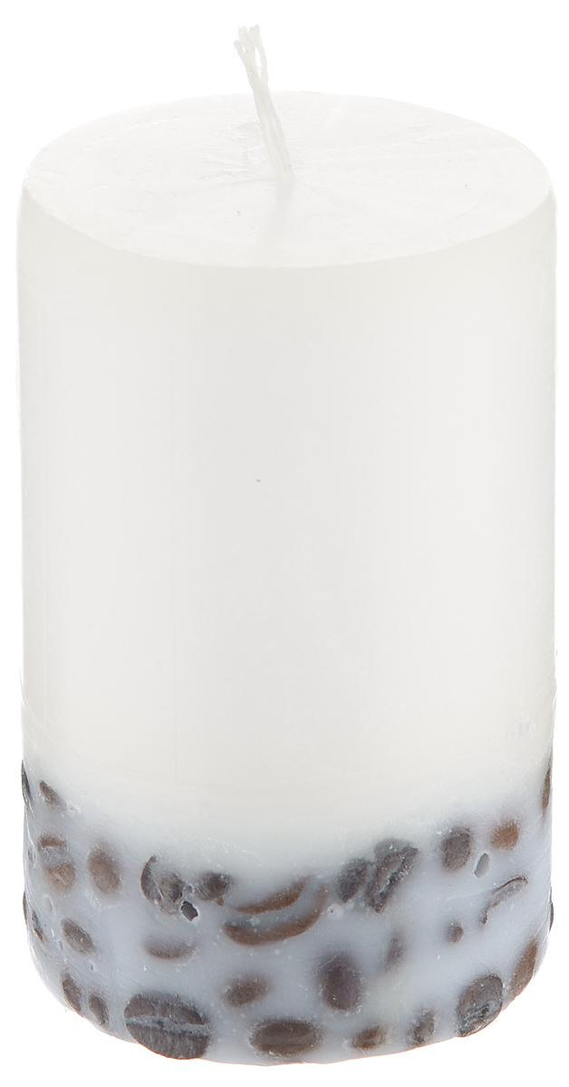 Свеча декоративная Proffi Home Столбик, с кофе, цвет: бежевый, высота 8 смPH5885Декоративная свеча Proffi Home Столбиквыполнена из парафина и стеарина вклассическом стиле. Нижняя часть свечидекорирована кофейными зернами. Изделие порадуетвас ярким дизайном. Такую свечу можнопоставить в любое место, и она станет яркимукрашением интерьера. Свеча Proffi Home Столбик создастнезабываемую атмосферу, будь то торжество,романтический вечер или будничный день.