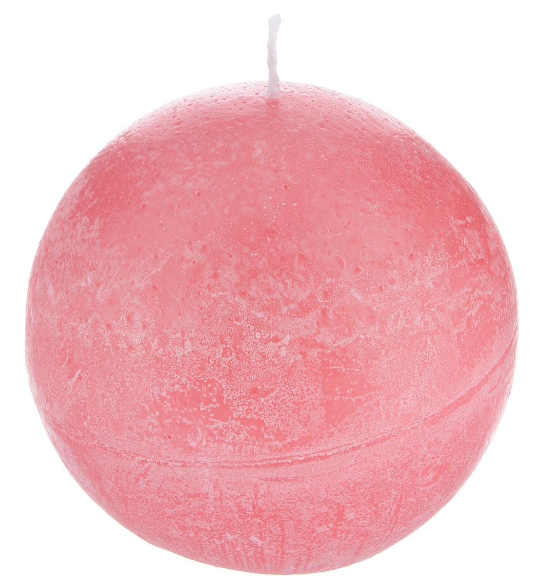 """Шарообразная декоративная свеча Proffi """"Шар"""" изготовлена из парафина и  стеарина.   Предназначена для освещения и украшения  помещений. Такая свеча может стать  отличным подарком или дополнить интерьер  вашей спальни или гостиной."""