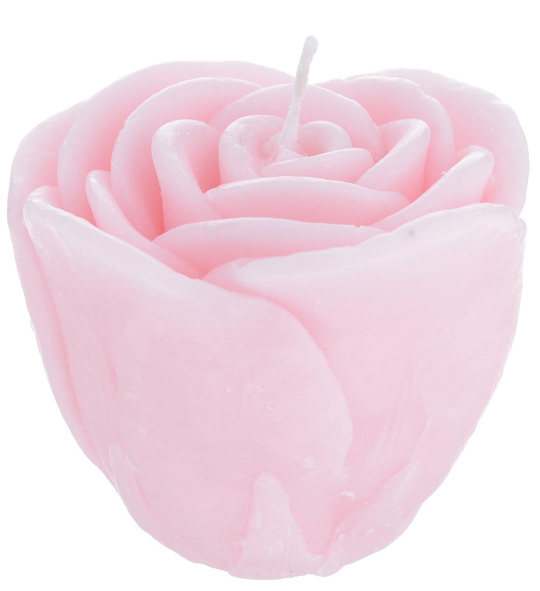 Свеча декоративная Proffi Большая роза, цвет: розовый, 7 х 7 х 6 смPH5923Декоративная свеча Proffi Большая роза изготовлена из парафина и стеарина, а фитиль из хлопка. Изделие выполнено в виде розы. Предназначена для освещения и украшения помещений. Такая свеча может стать отличным подарком или дополнить интерьер вашей спальни или гостиной.
