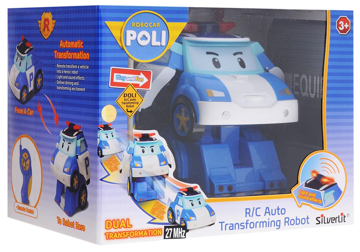Robocar PoliРобот-трансформер на радиоуправлении Robocar Poli