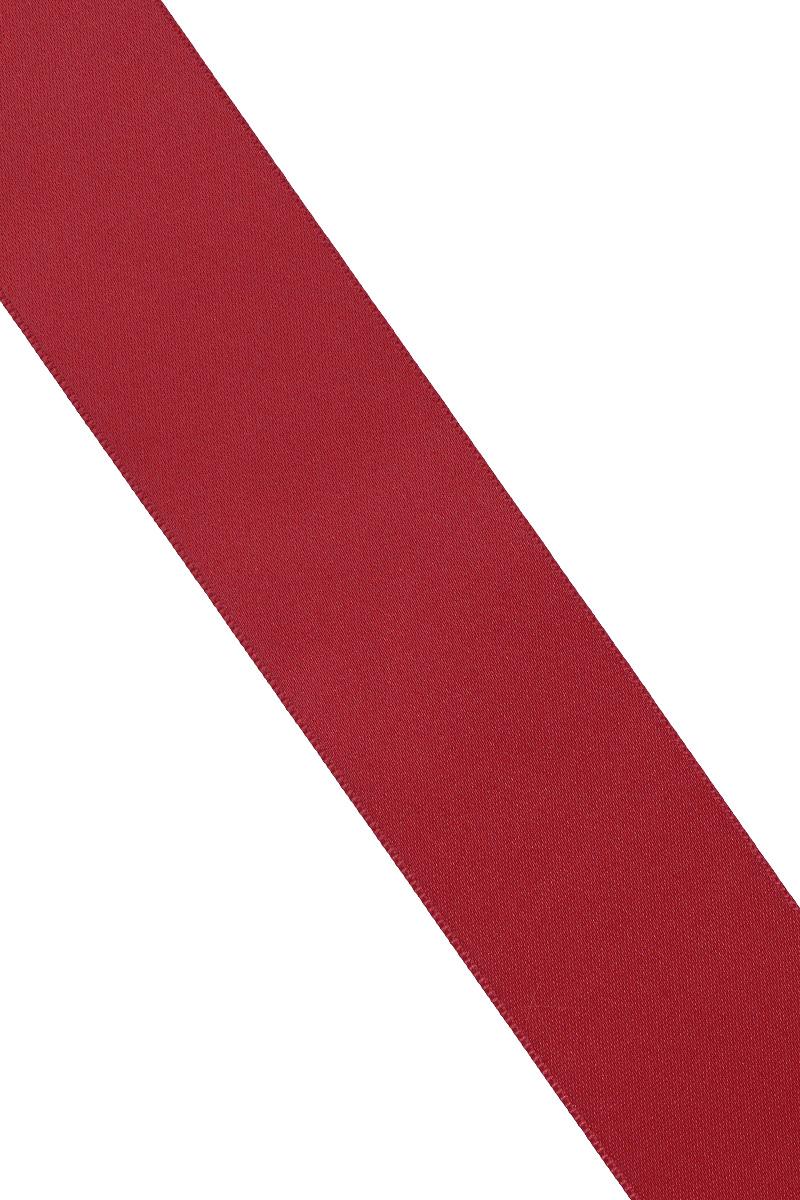 Лента атласная Prym, цвет: бордовый, ширина 38 мм, длина 25 м695806_75Атласная лента Prym изготовлена из 100% полиэстера. Область применения атласной ленты весьма широка. Изделие предназначено для оформления цветочных букетов, подарочных коробок, пакетов. Кроме того, она с успехом применяется для художественного оформления витрин, праздничного оформления помещений, изготовления искусственных цветов. Ее также можно использовать для творчества в различных техниках, таких как скрапбукинг, оформление аппликаций, для украшения фотоальбомов, подарков, конвертов, фоторамок, открыток и многого другого.Ширина ленты: 38 мм.Длина ленты: 25 м.