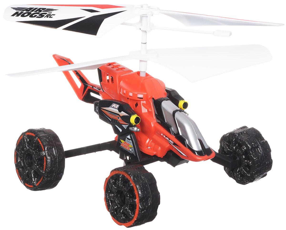 Air Hogs Машина-вертолет на инфракрасном управлении Hover Assault Eject цвет красный купить вертолет на пульте управления в костроме