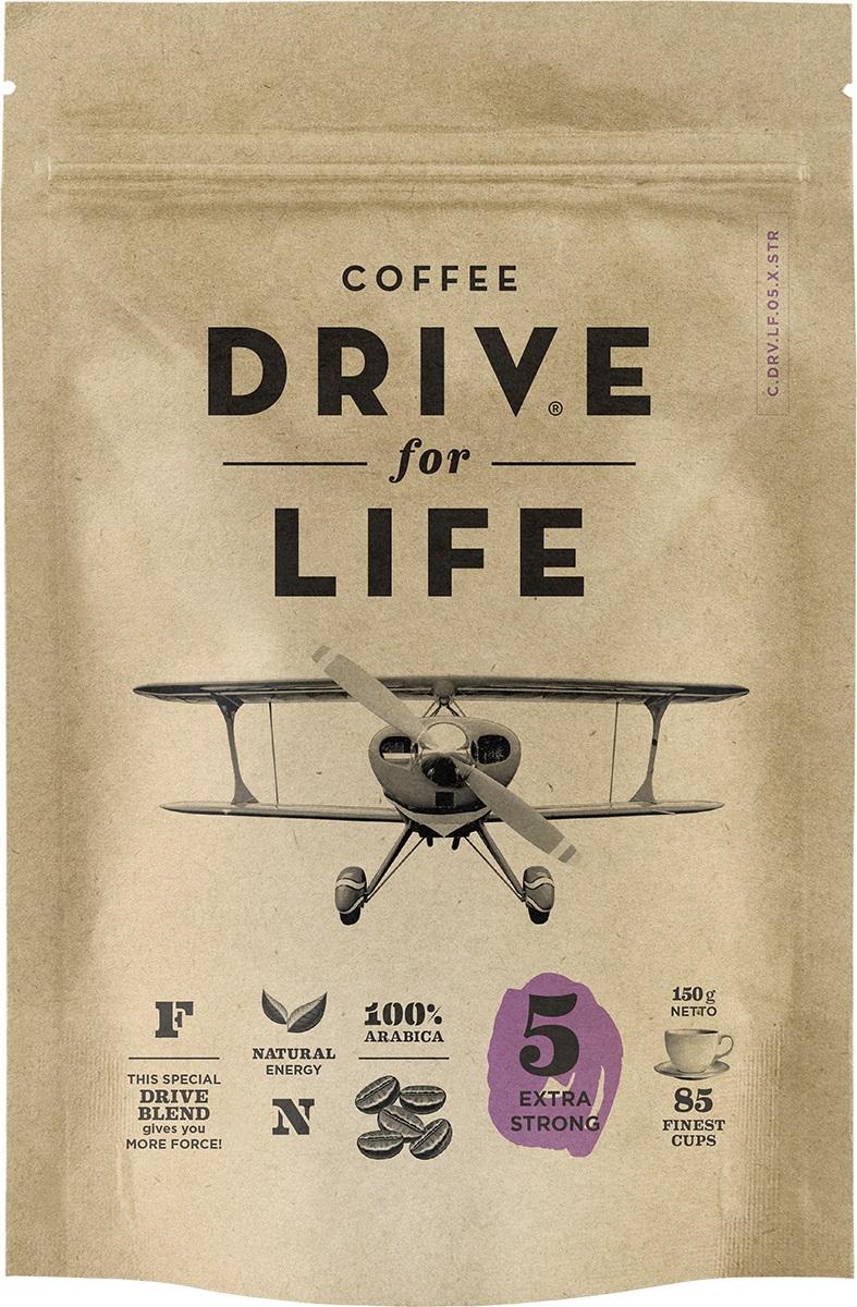 Drive for Life Extra Strong кофе сублимированный, 150 г кофе черный парус сублимированный 85г