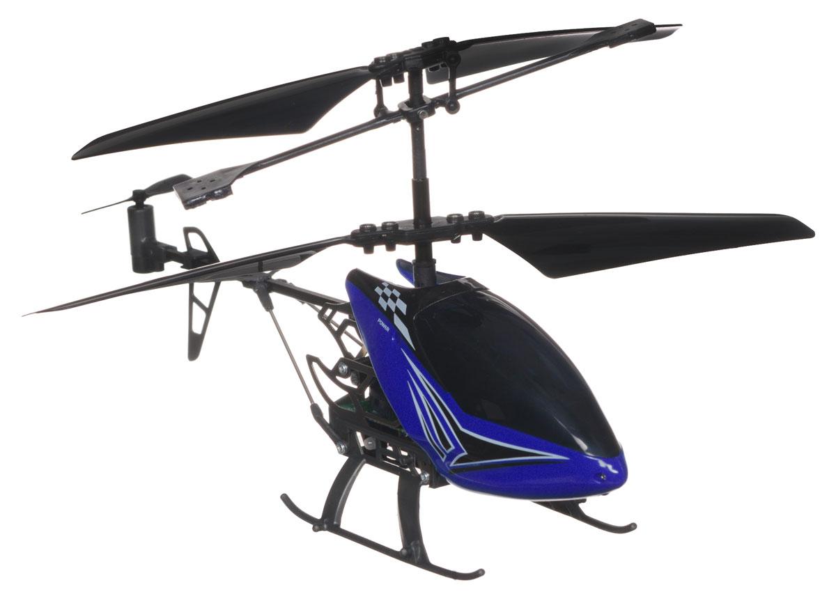 Silverlit Вертолет на радиоуправлении Sky Dragon цвет синий вертолет sky dragon silverlit