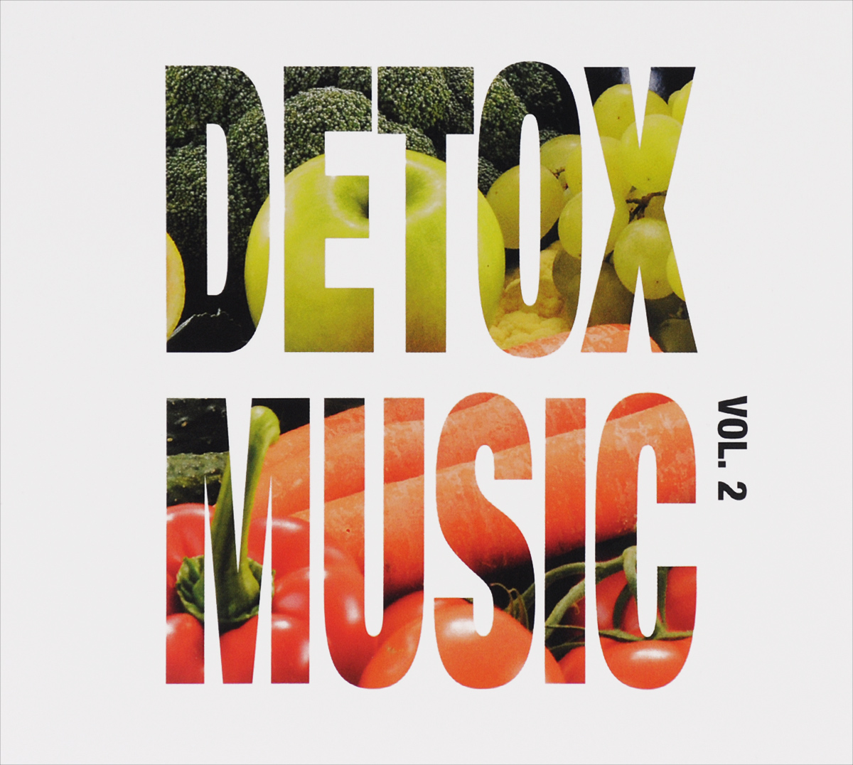 Detox Music. Volume 2 (2 CD) sheer lace trim double v neckline top