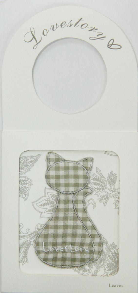 Ароматизированное саше Феникс-Презент Листья в виде Кота феникс презент