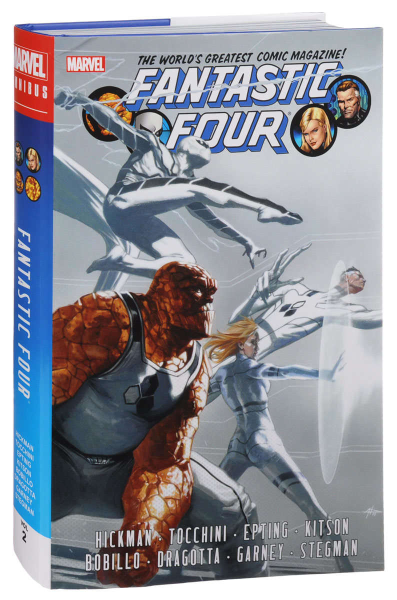 Fantastic Four by Jonathan Hickman Omnibus: Volume 2 elon musk and the quest for a fantastic future