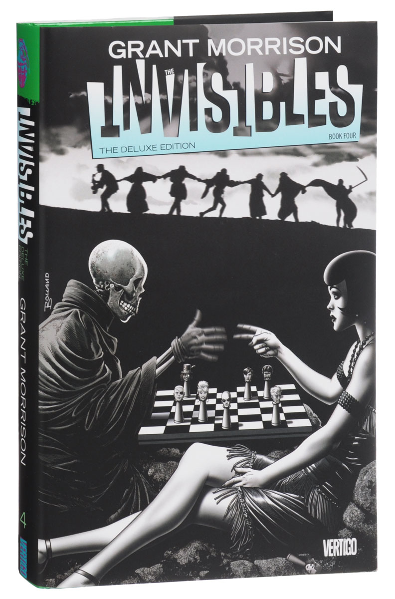 The Invisibles: The Deluxe Edition: Book Four the invisibles the deluxe edition book four