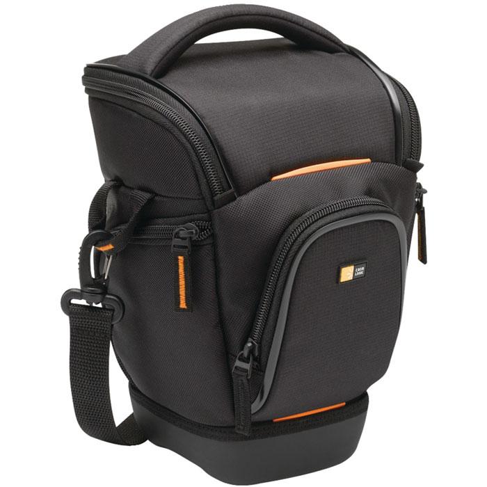 Case Logic SLRC-201, Black сумка-кобура для SLR фотоаппарата с zoom-объективом сумка для фотоаппарата case logic tbc 406 black