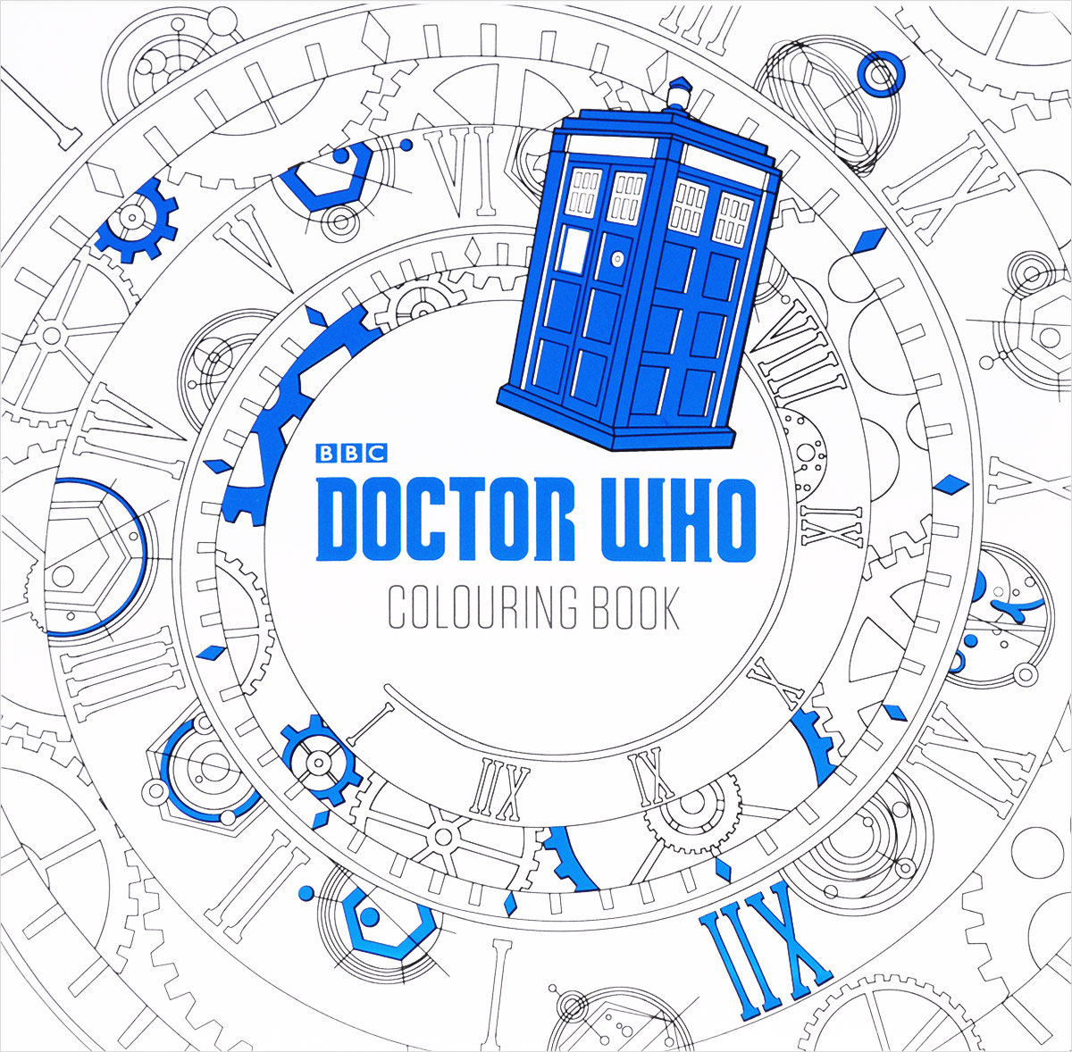 BBC: Doctor Who: Colouring Book