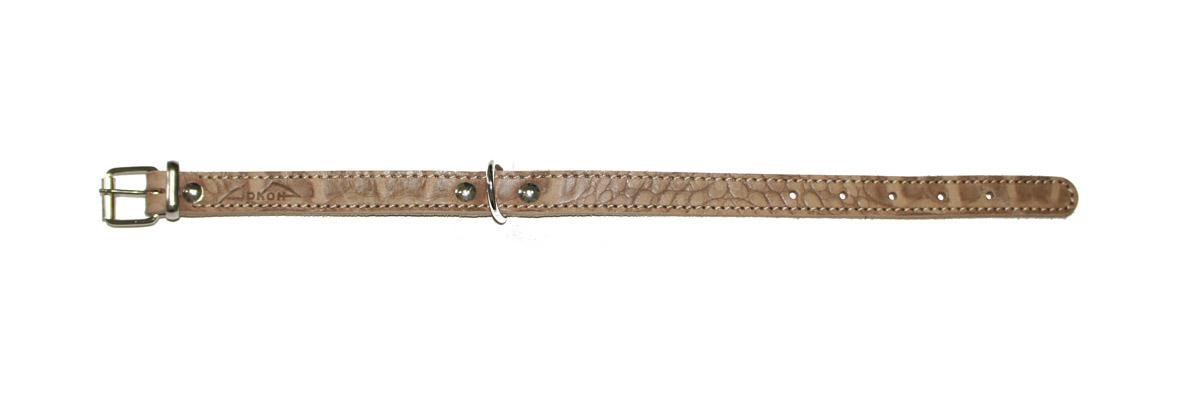 Ошейник для собак Аркон Джунгли, 16 мм, обхват шеи 26-34 см, цвет: коричневый. од16/1 ошейник удавка для собак аркон стандарт цвет черный у16плч