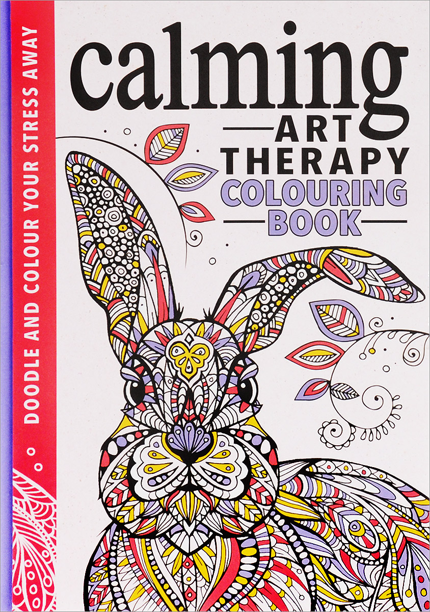 Calming Art Therapy: Doodle and Colour Your Stress Away folk art patterns to colour